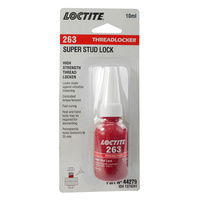 Loctite 263 Super Stud Lock High Strength Threadlocker 10ml