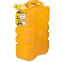 20 Litre Yellow Jerry Can Diesel Fuel Container Fuel Storage With Pourer