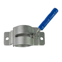 Jockey Wheel Fixed Clamp Bracket Heavy Duty Removable 2 Hole Bolt-On / Weld-On