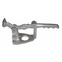 Hydraulic Coupling Mounting Bracket Zinc Plated Suit Override Handle Trailer