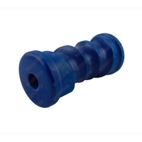 "6"" Inch Boat Trailer Keel Roller Self Centreing Blue Nylon Plastic 152mm 17mm Bore"