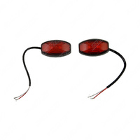 Led Rear side Outline Red Marker Lamp Multi Volt (2)