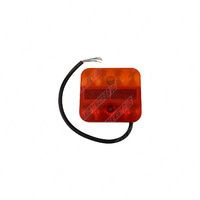Ultra Slim LED Submersible Tail Light Lamp 12V Square Design