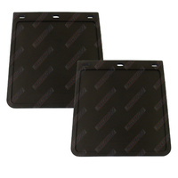 "Extra Heavy Duty Mud Flaps 9"" Wide x 10"" Drop (230mm x 250mm) for 4WD,s, Utes and Trailers - Pair"