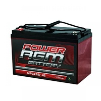 Power AGM Deep Cycle Battery 12V 135AH