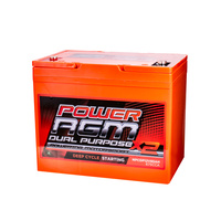Power AGM Dual Purpose Starting & Deep Cycling Battery 12V 85AH 675CCA