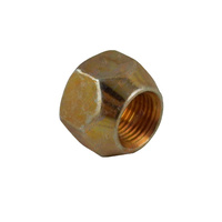 Zinc Plated Open Ended Nut 1/2'' M12 X 1.5