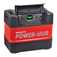 "Portable Power Hub 12v with 300w Pure Sine Wave Inverter for ""Off The Grid"""