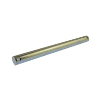 "Zinc plated 203mm x 16mm Dia  Roller Spindle to suit 6"" Flat Bracket Boat Trailer"