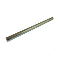 "Zinc plated 280mm x 16mm Dia Roller Spindle to suit 8"" Eye Post Boat Trailer"