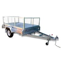 7 x 4 ft Premium Box Trailer with 600mm Cage – ATM 750kg