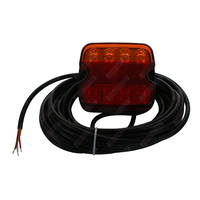 LED Combo Trailer Light 10-30V Submersible Multi-Mount LHS 9m Cable