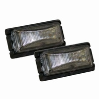 LED Trailer Lights Side Marker White 12V Submersible Caravan Truck Boat - Pair