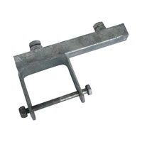 "Galvanised Tube Side Adjuster 3'' X 2'' with 8"" long Yoke"