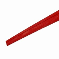 Boat Trailer RED Skid Strips Teflon Grooved Slides Centre 50mm x 3M Long