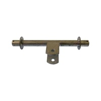 Galvanised Double Wobble Roller Bracket Big Clamp 22mm Dia.