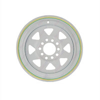 13'' X 4.5'' Ford & Holden HT Multi Fit Rim White Caravan Boat