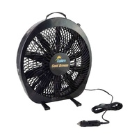 Portable 12V DC Fan Ideal for Camping and Caravanning