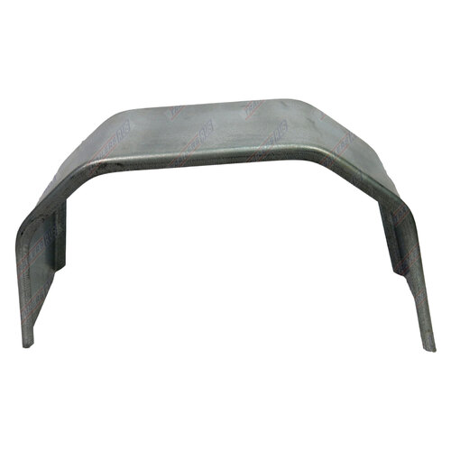"Trailer Mudguard 4 Fold Galvanised 12"" Wide to suit 15"" Wheel"