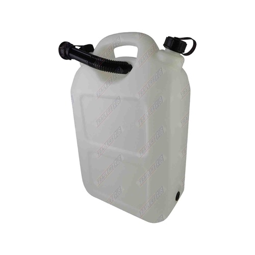20 Litre Plastic Water Container with Flexible Pourer