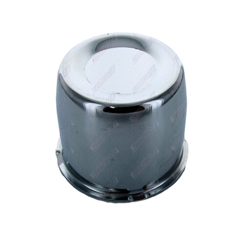 Chrome Centre Wheel Metal Cap Suits 84mm Bore Boat Box Trailer Caravan 4x4